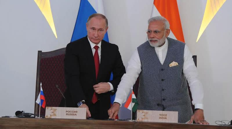 India, Russia agree missile sales, joint venture for helicopters