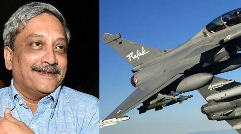 Parrikar hints that rafale may come to india earlier than expecte