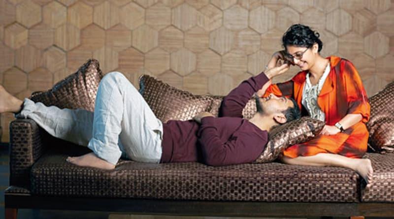 Aamir Khan And Kiran Rao Shared A Sweet Kiss At MAMI's Opening Ceremony