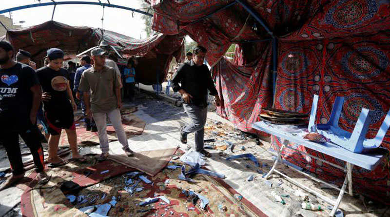 Suicide bomber kills at least 41at Baghdad