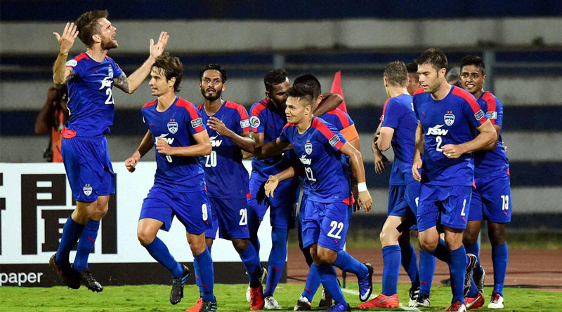 Bengaluru FC created history after becoming the first Indian football club to reach the final of AFC