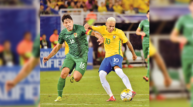 Brazil won against Bolivia in world cup qualifier round