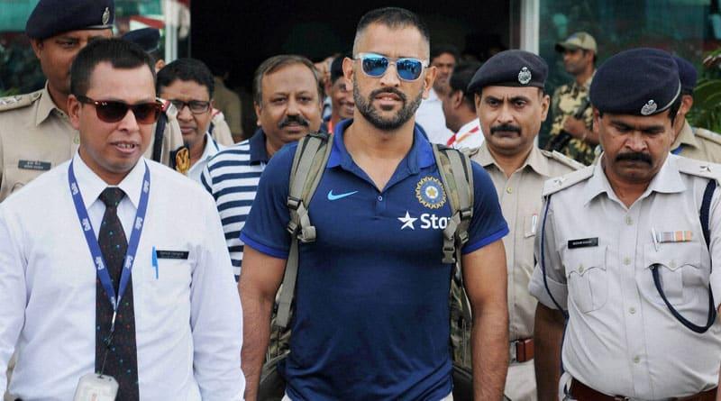 Dhoni's coach is hospitalised, therefore can not come to watch IND v NZ 4th ODI