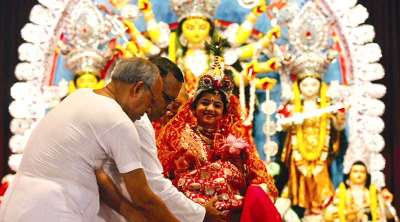 Why only a virgin girl is worshipped as Devi Durga?