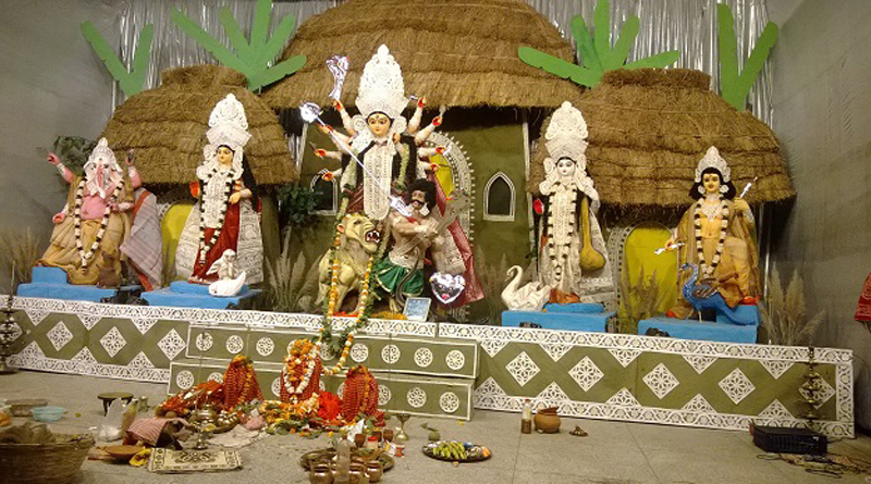 Since 1953, Both Sides of Hili Border Celebrates Durga Puja Together