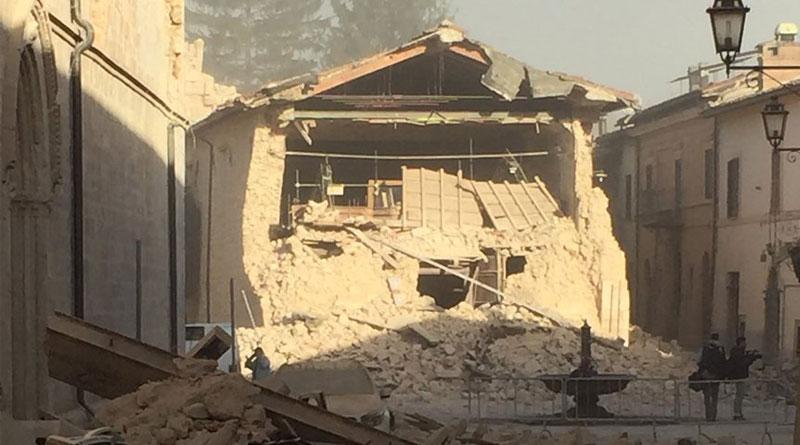 Earthquake measuring 6.6 magnitude strikes central Italy