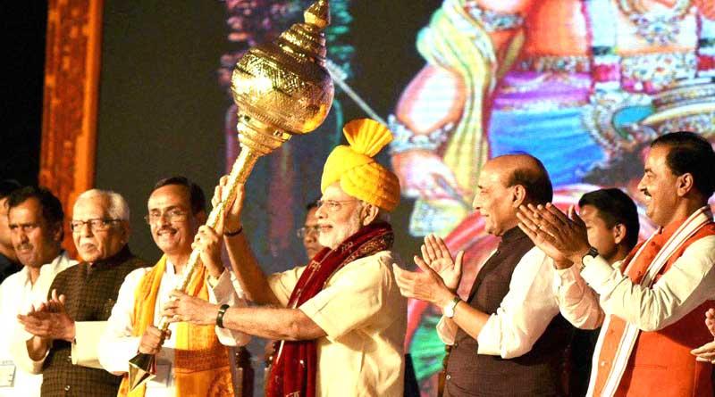 Won't spare those who fund terrorists: Modi's Dussehra message