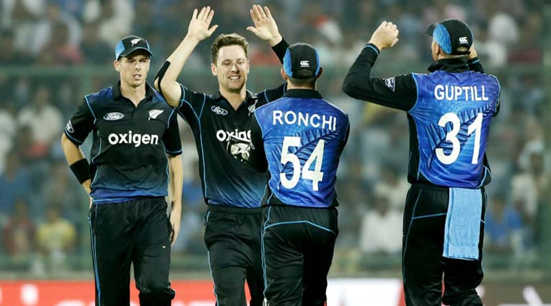 NewZealand won by 6 runs against India in 2nd ODI