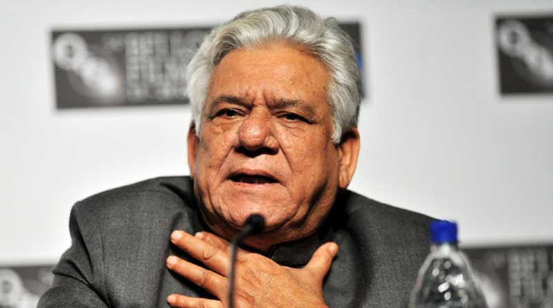 Actor Om Puri insults the martyrdom ofsoldiers