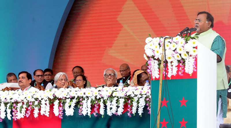 Partha Chatterjee was present in Awami League Conference in Dhaka