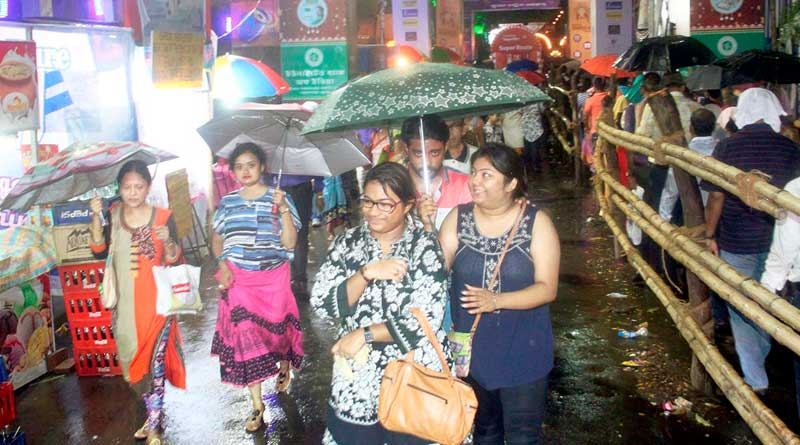 Dashami too can get drenched by heavy rain