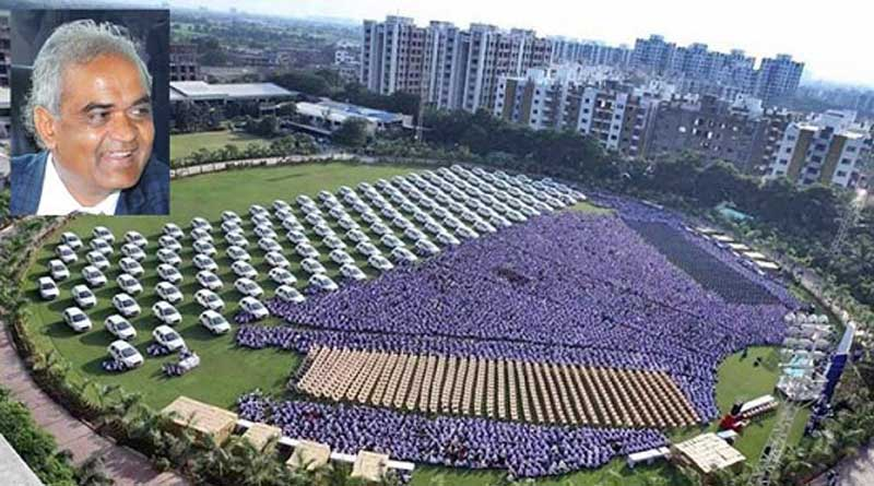 Savji Dholakia gives 400 flats, 1,260 cars to his employees as Diwali gift