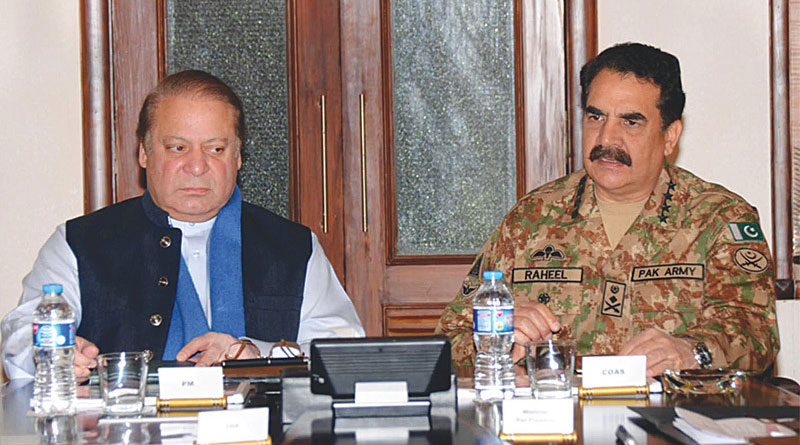 Rift between Pakistan government and army