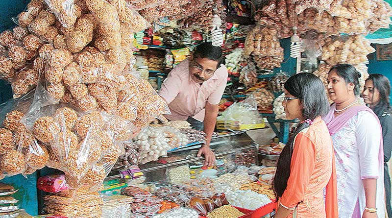 To get traditional sweets, people now must have to go to Sweet Shops