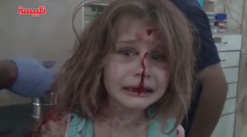 Chilling New Viral Video Shows What War Does To Ordinary Children Of Syria