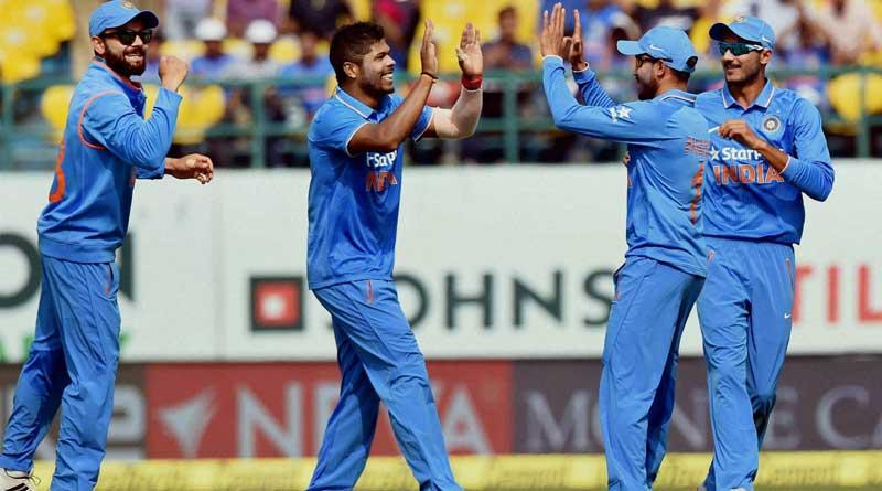 India beat NewZealand by 6 wickets in 1st ODI