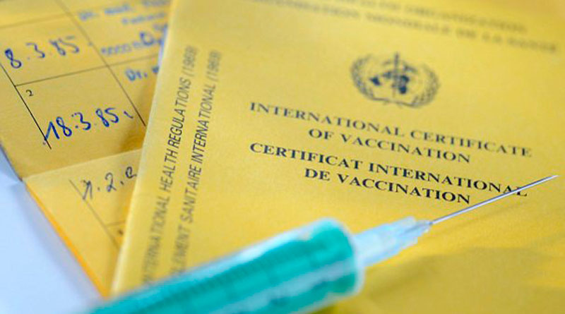 Yellow fever vaccination will be available in Government hospitals