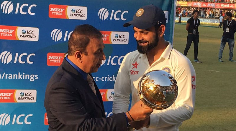 India wins the test series against NewZealand