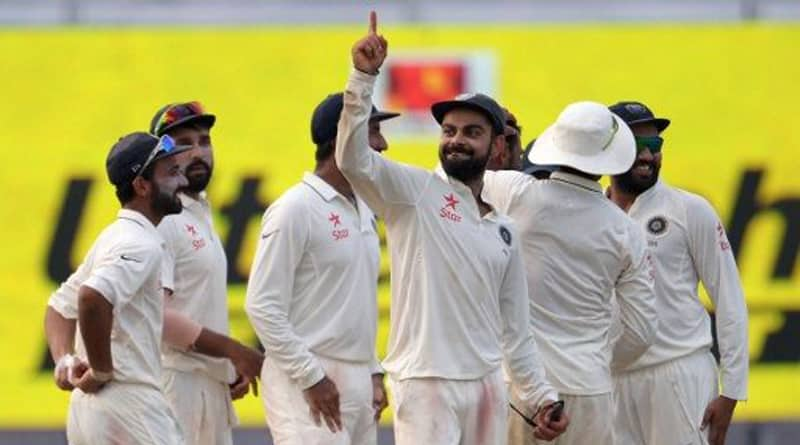India Won Eden Test, Secured top position in test ranking