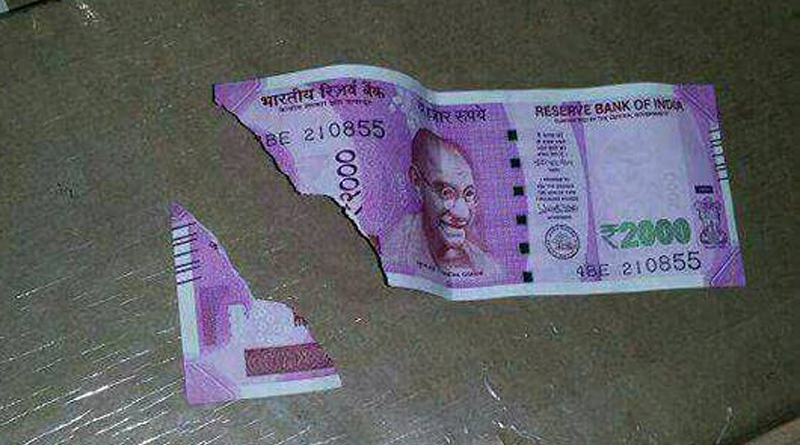 Are Rs. 2000 Notes to Thin to Handle?