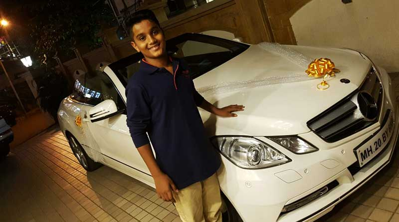 This BJP MLA says he gave his minor son a Mercedes Benz