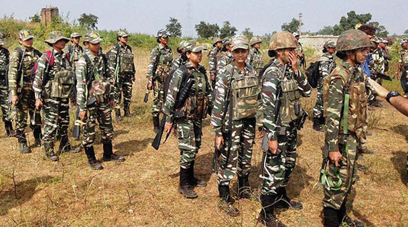 CRPF has deployed a team of women commandos in anti-Naxal operations in Jharkhand