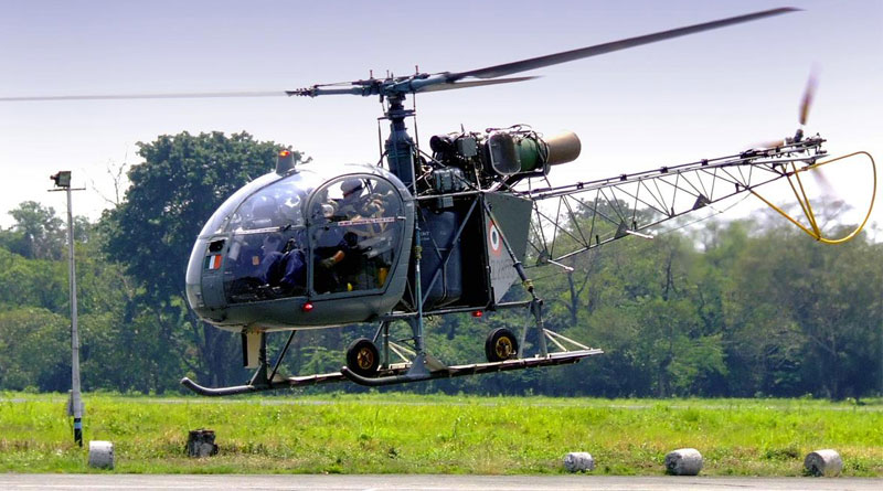 3 officers killed after Army's Cheetah Chopper crash in Sukna