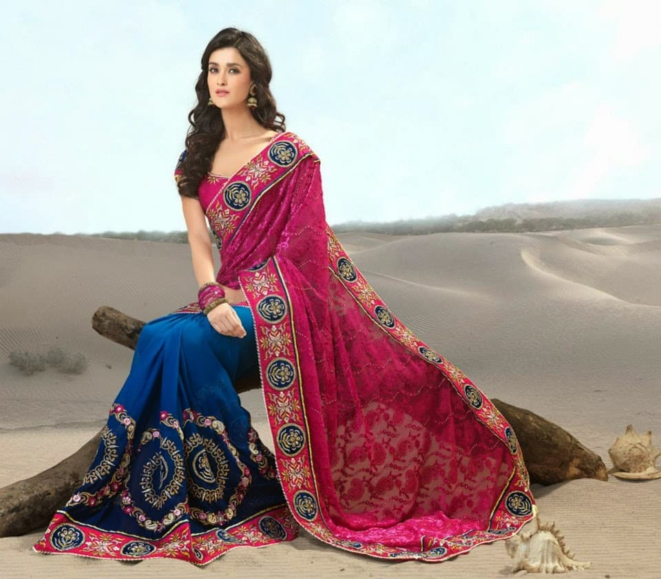 indian-bridal-sarees-2014-2015-stylish-indian-bridal-sarees-designs-collection-2014-2015-for-brides-fashionmaxi-com-blogspots-com-2b14