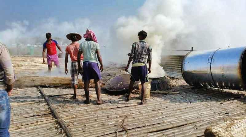 Why China is taking Jute Stick Charcoal from Beldanga