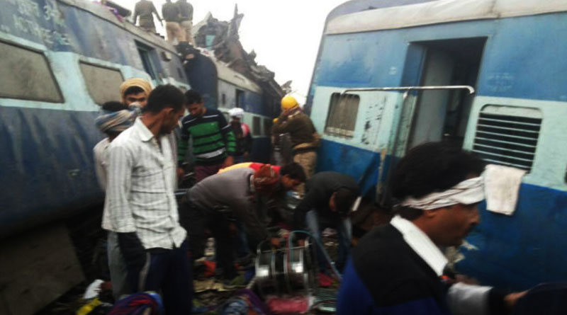 Indore-Patna Express derails near Kanpur, many died