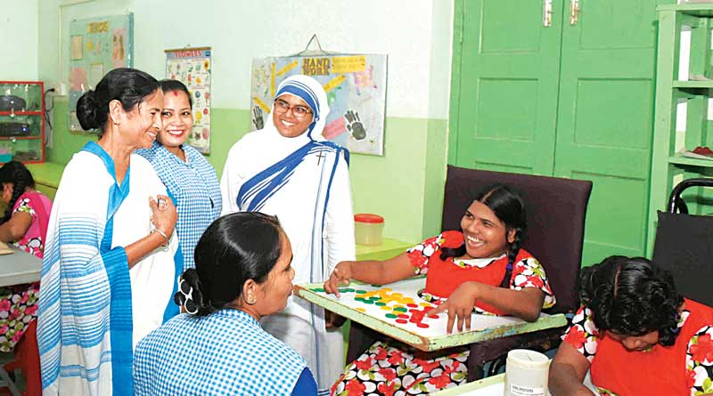 CM is greatly inspired by Mother Teresa and urges people to keep peace
