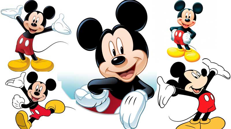 Mickey Mouse, the nostalgia of childhood