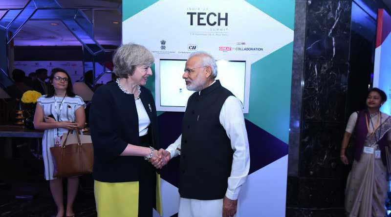 Theresa May will meet PM Modi today on her first bilateral visit in India