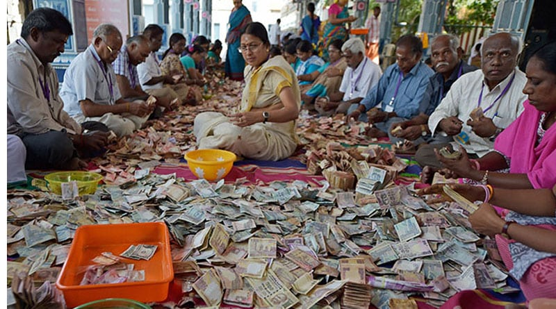 Temple go cashless, now accepting donation by E-wallet, ATM
