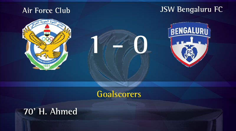 Iraq Air Force club beat Bengaluru FC to clinch AFC Cup for the first time