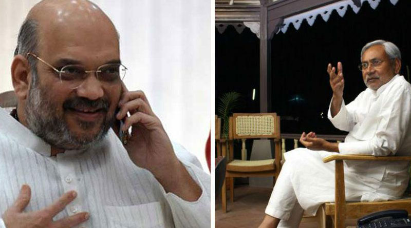 Welcome nitish, say's BJP president Amit Shah