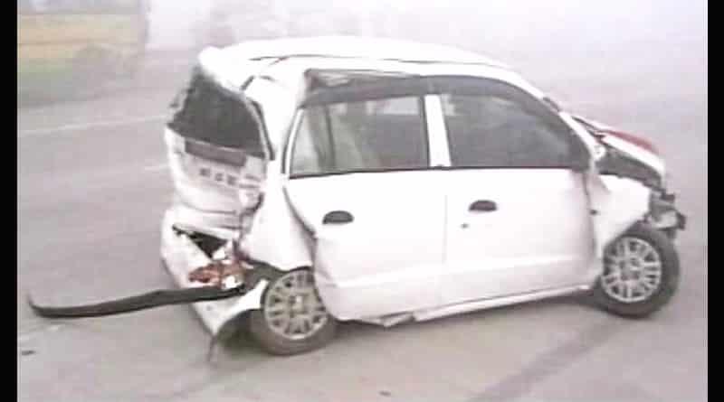 20 vehicle pile-up on Yamuna Expressway, near Delhi