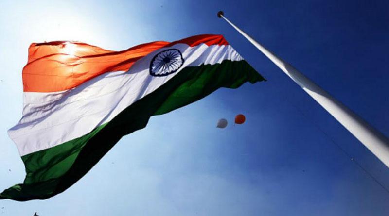 Shiv Sena unfurled the national flag at Lal Chowk in Srinagar