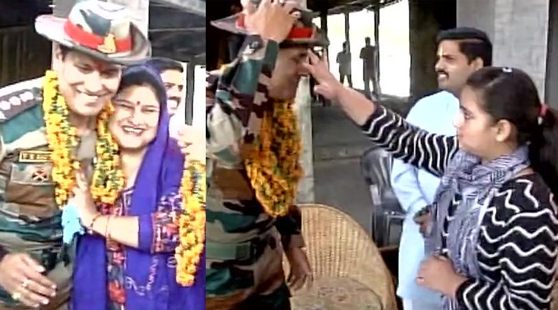 Women celebrate Bhai Dooj festival with army jawans in Poonch