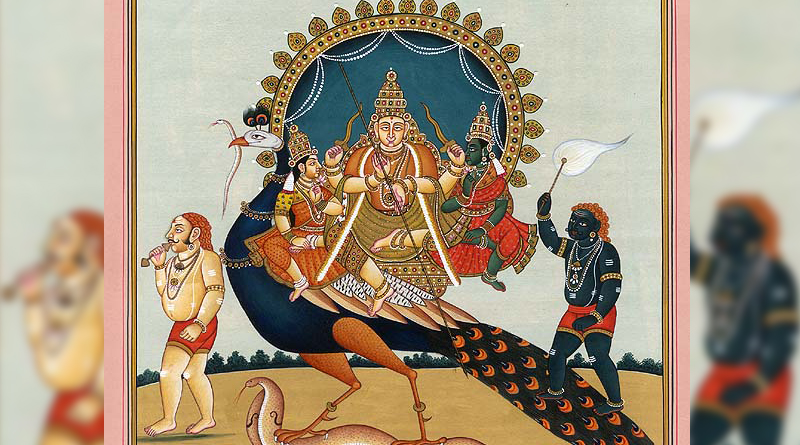 Not A Virgin Soldier Deity, Rather Kartikeya Has Two Wives