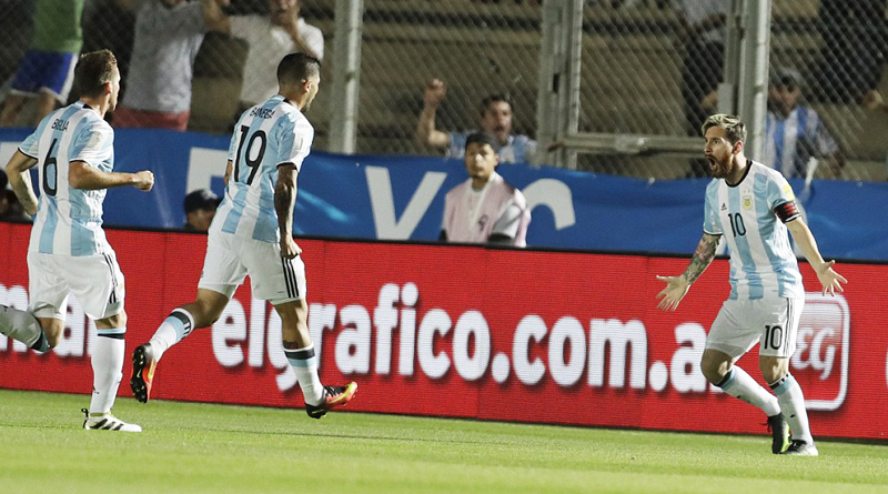 Argentina 3-0 Colombia: Lionel Messi scores stunning free-kick