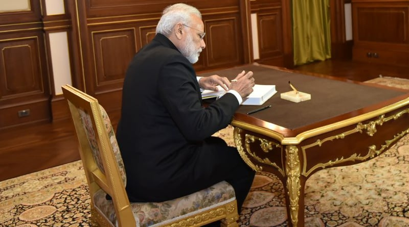 Before Cabinet meeting PM Narendra Modi asks ministers not to bring phones; Know why