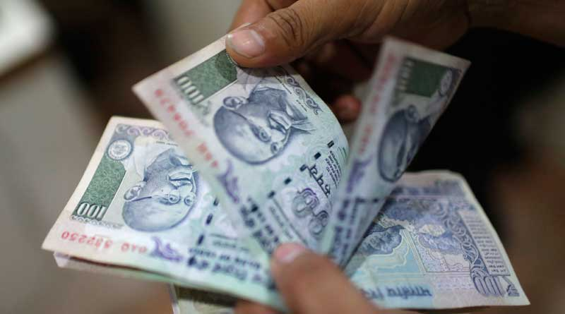 Shortage of small notes, payments are provided from donation box