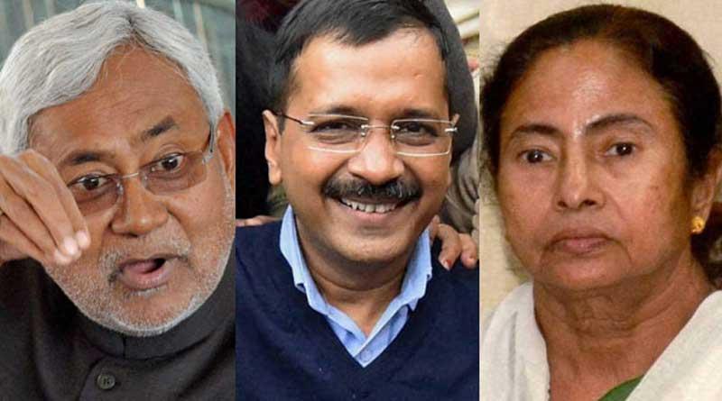 Kejriwal Retweets Mamata's stand on note bann Who Calls It Draconian