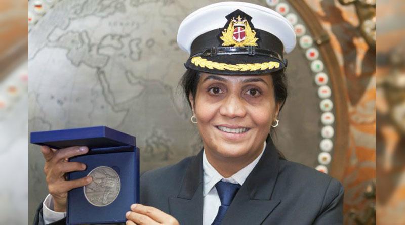 Radhika Menon, India's first female merchant Navy Captain wonBravery Award