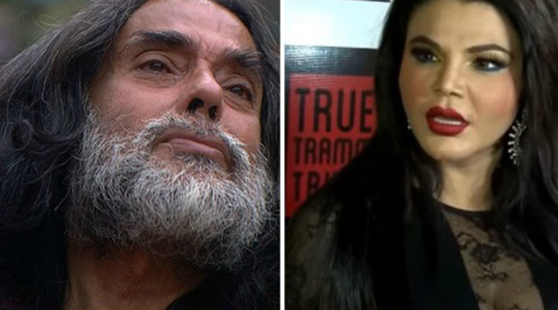 Rakhi Sawant Want To Forcefully Nude Om Swami To Teach Him A Lession