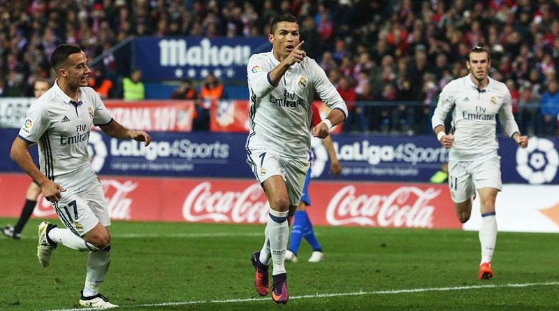 Real Madrid beat Atletico as Ronaldo scores brilliant hat-trick