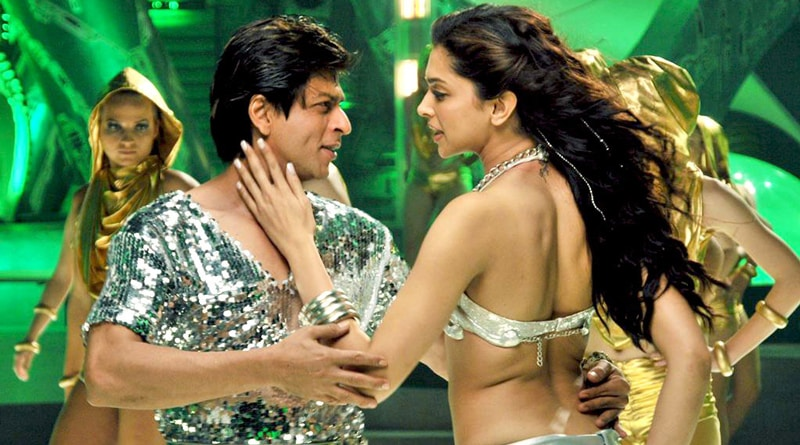 Shah Rukh Khan Grooved To Tune With Deepika Padukone In A Night Club