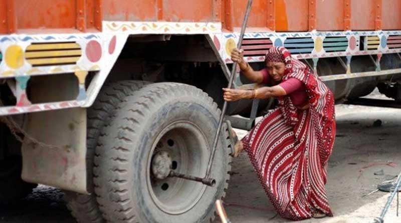 Meet Shanti Devi,India's first lady truck mechanic