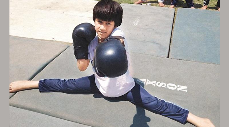 8 year old Kashmiri girl Tajamul wins gold in kick boxing